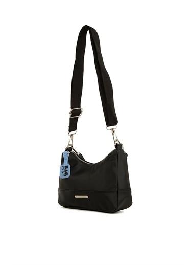 Bagmori  Kadın Parçalı Dikişli Askılı Baget M000006116 Siyah